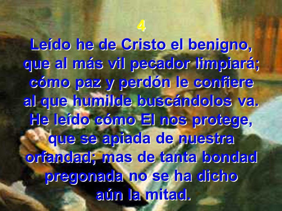 Coro No se ha dicho aún la mitad; no se ha dicho aún la mitad; de la santa ciudad tan gloriosa, no se ha dicho aún la mitad.