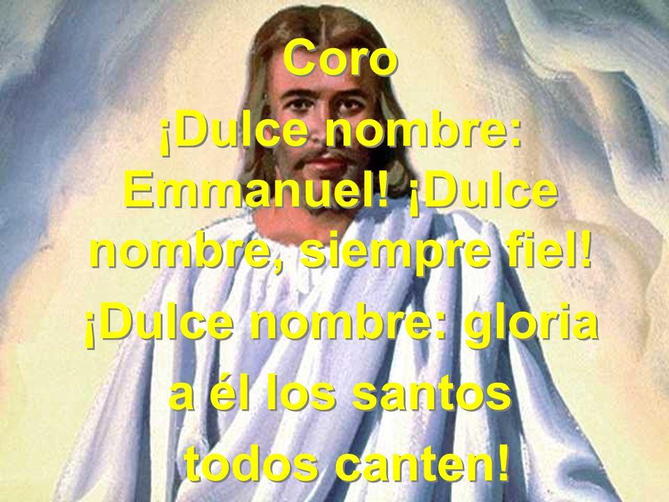 2 Jesús; en cuyo corazón descargo entera mi aflicción, pues calma toda turbación, Jesús, tu amado nombre.