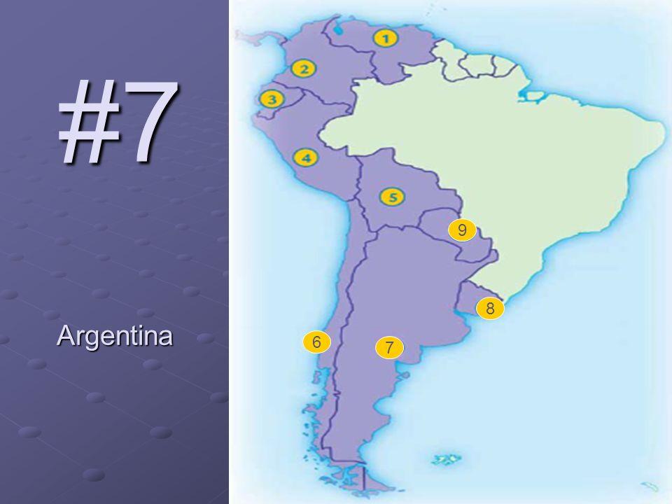 #7 Argentina 6 7 8 9