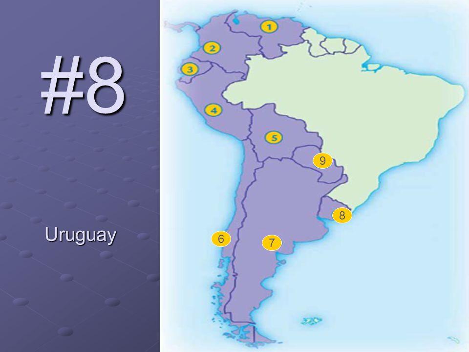 #8 Uruguay 6 7 8 9