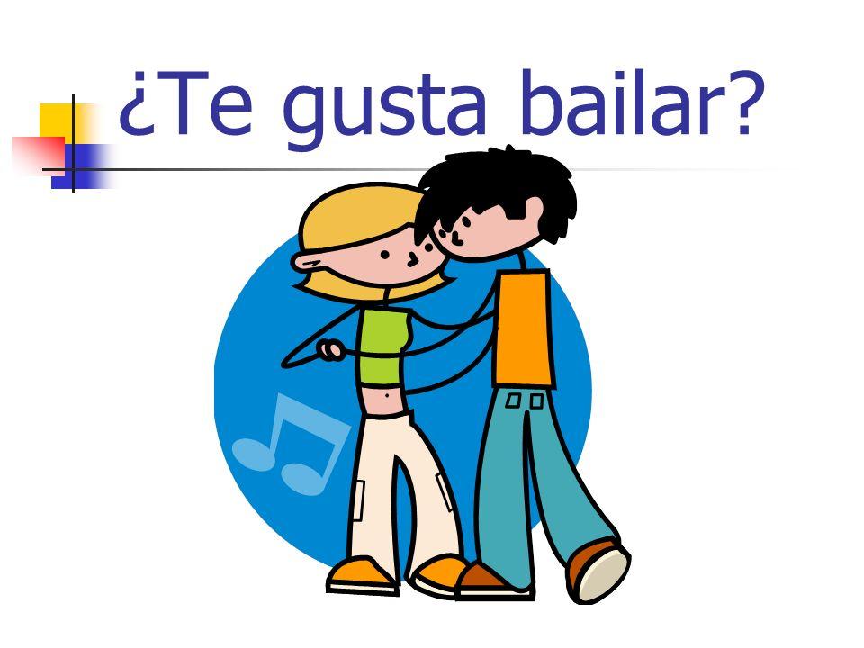 ¿Te gusta bailar?