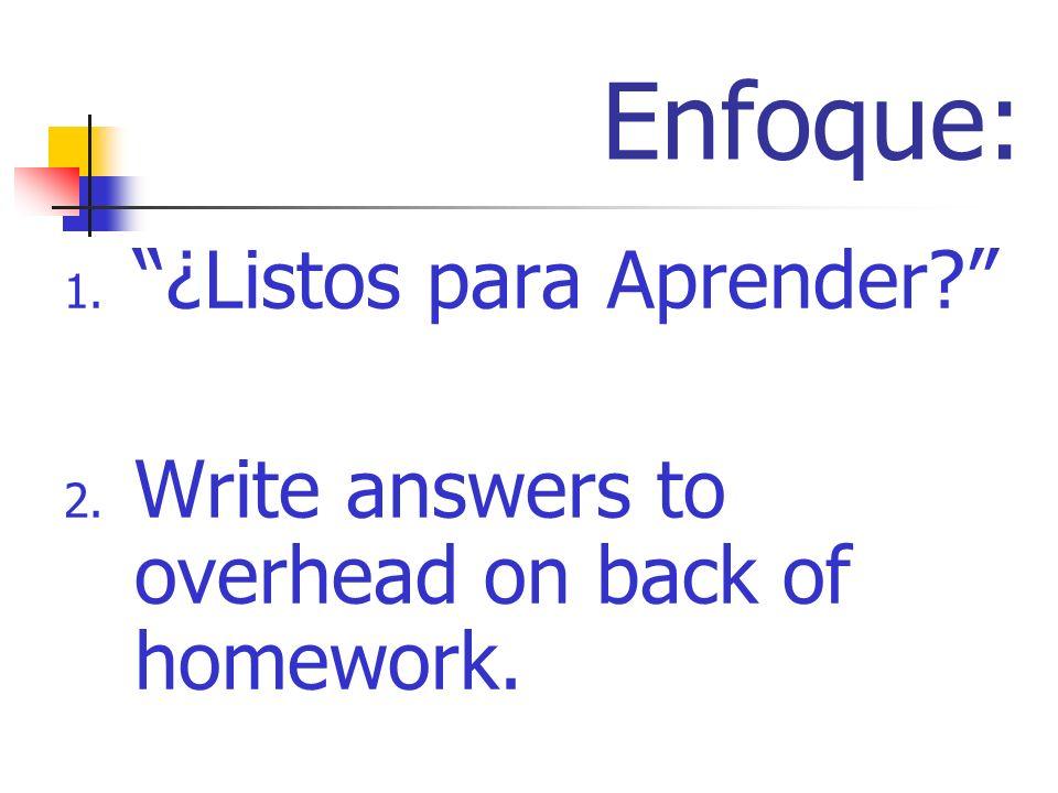 La Agenda Return vocab prod quiz The Verb tener (p.102-103) School Uniforms (p. 103)