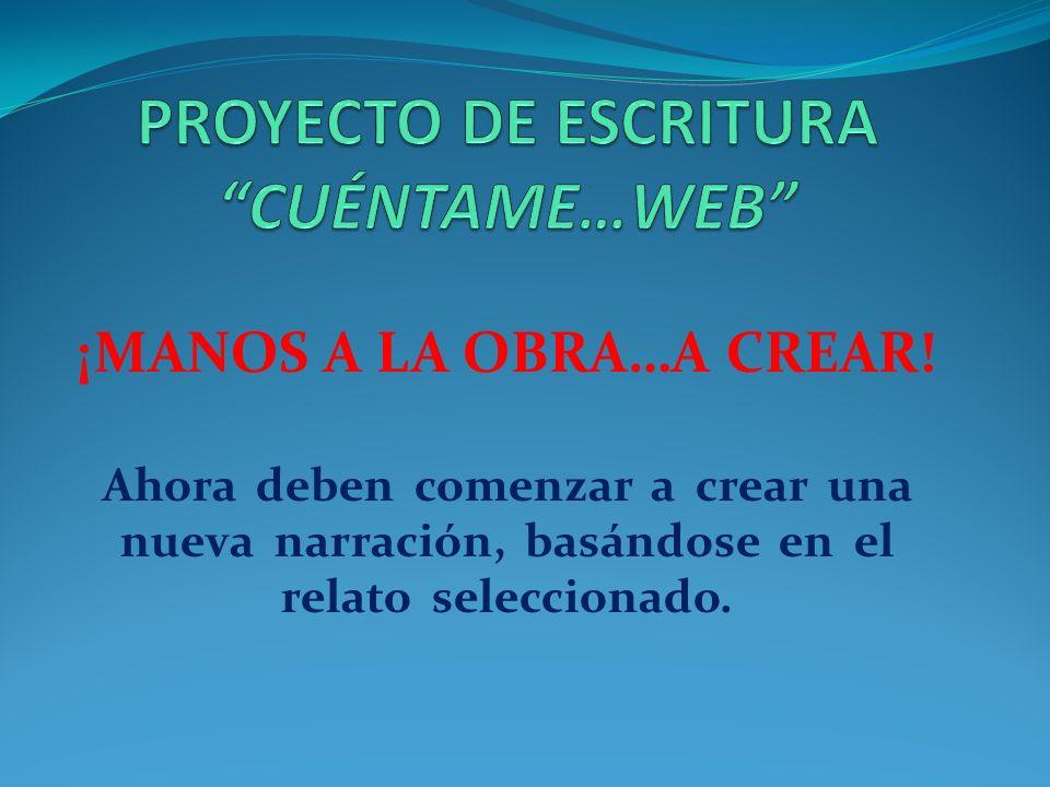 REALIZACIÓN Para realizar este proyecto y para dejar evidencias del trabajo desarrollado, utilizaremos un blog: www.proyectoescritura1a.wordpress.com