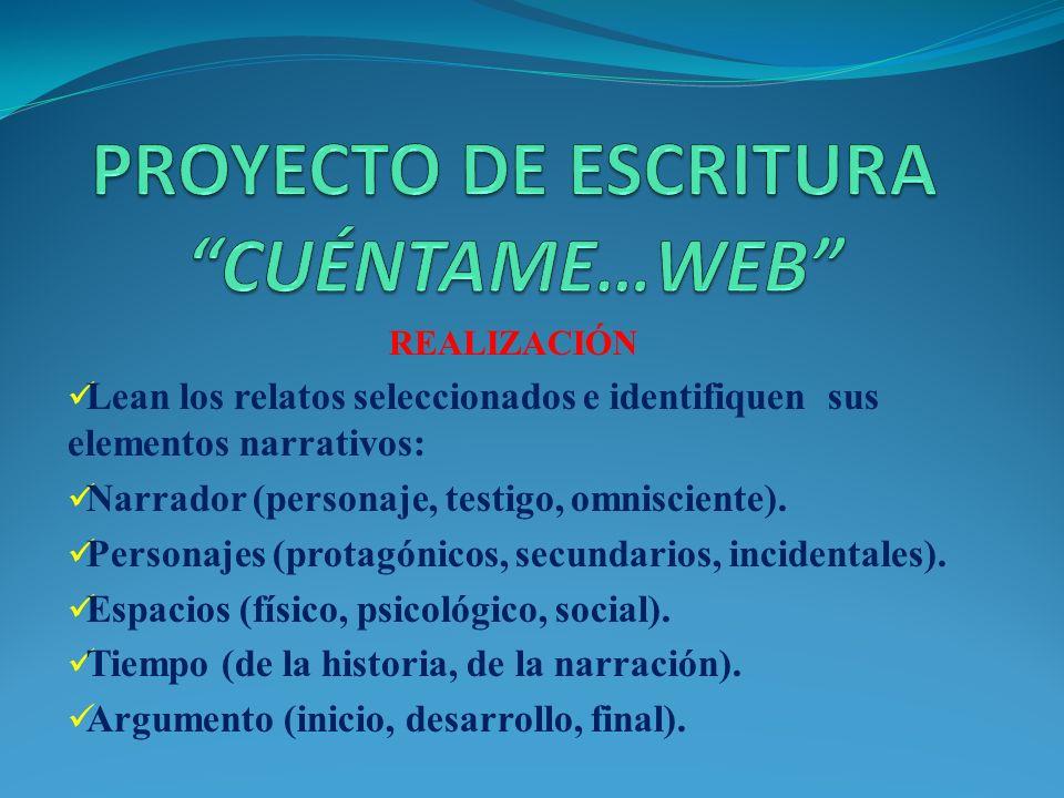 REALIZACIÓN Recopilen mitos y/o leyendas en internet. Pueden visitar las siguientes páginas web: www.redchilena.com www.dedaldeoro.cl www.todohijos.cl
