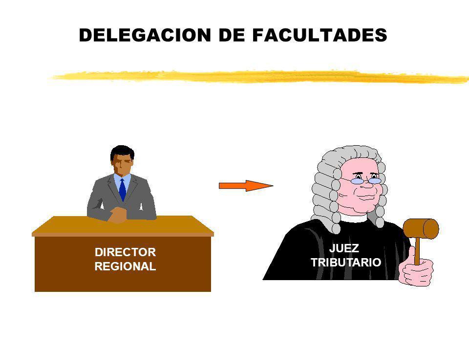 DELEGACION DE FACULTADES DIRECTOR REGIONAL JUEZ TRIBUTARIO