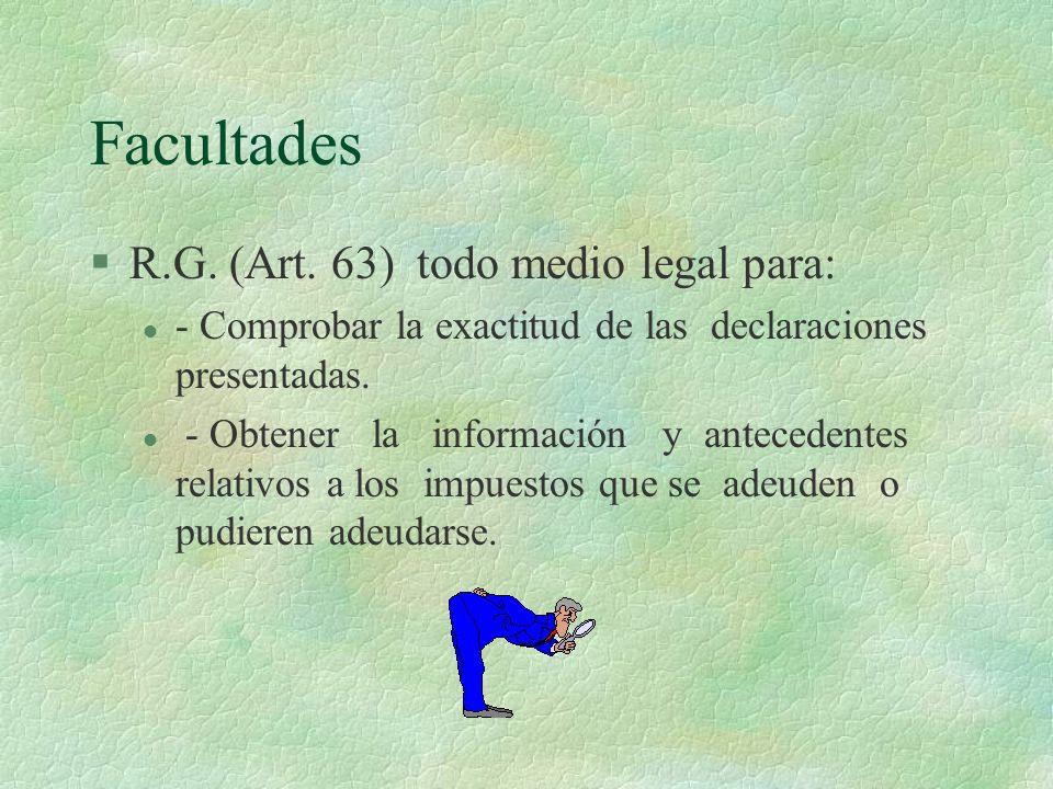 Algunos medios Art.60 § Examen de documentos.