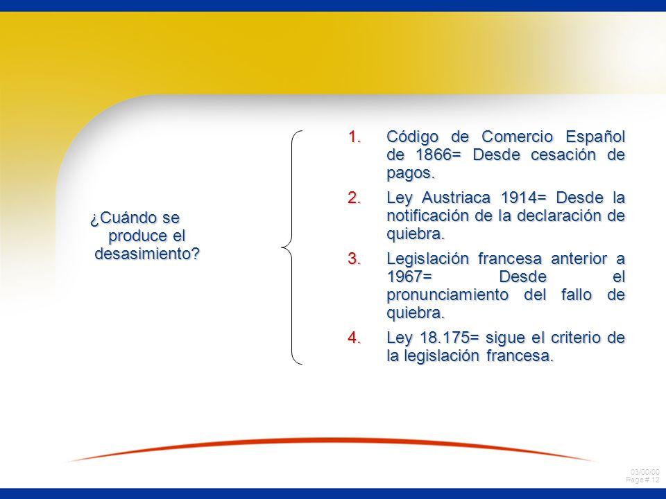 03/00/00 Page # 11 a) material= desapoderamiento de bienes y documentos: diligencia de de bienes y documentos: diligencia de incautación. incautación.