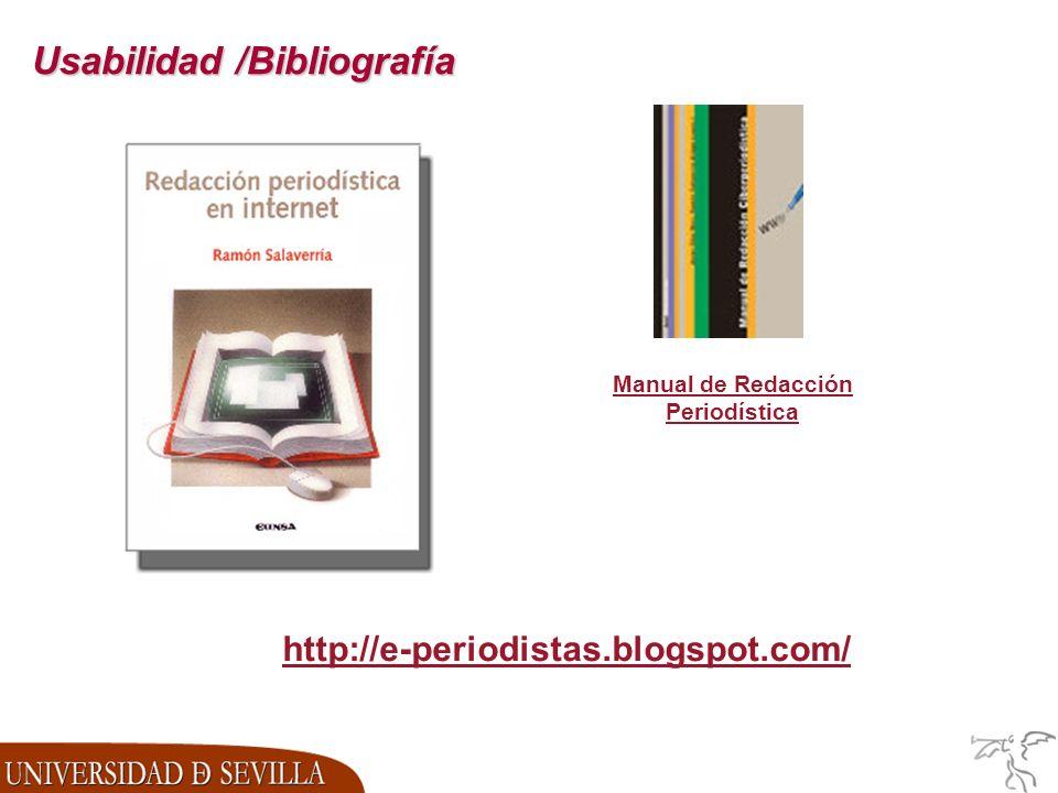 Manual de Redacción Periodística http://e-periodistas.blogspot.com/