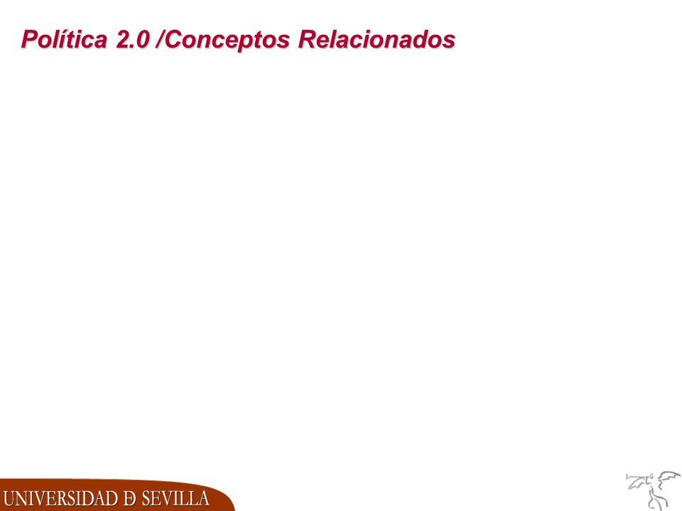 Política 2.0 /Conceptos Relacionados