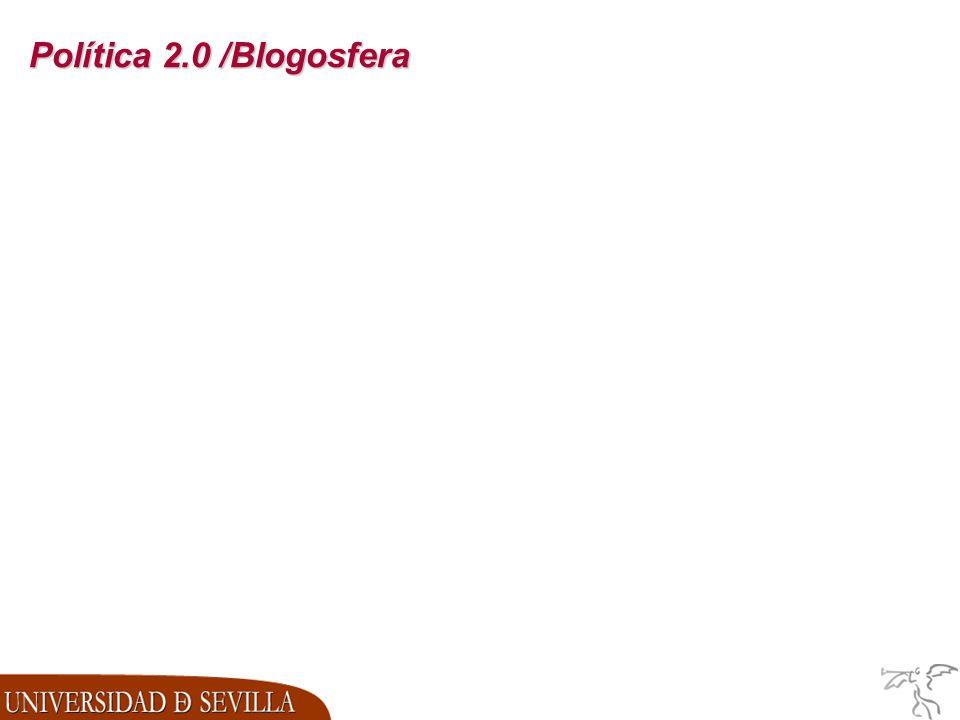 Política 2.0 /Blogosfera