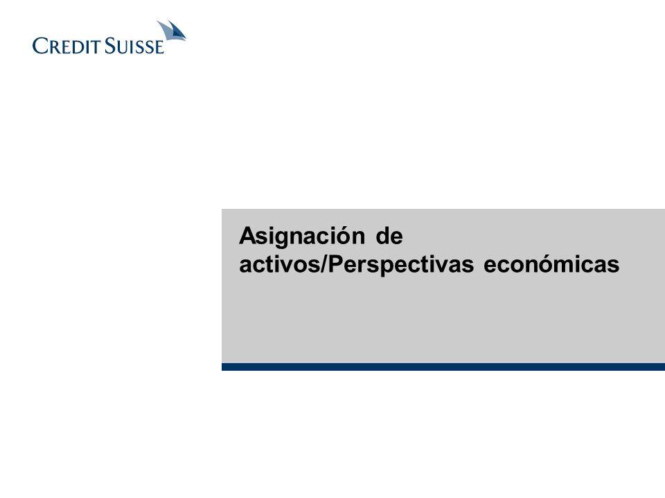 Asignación de activos/Perspectivas económicas