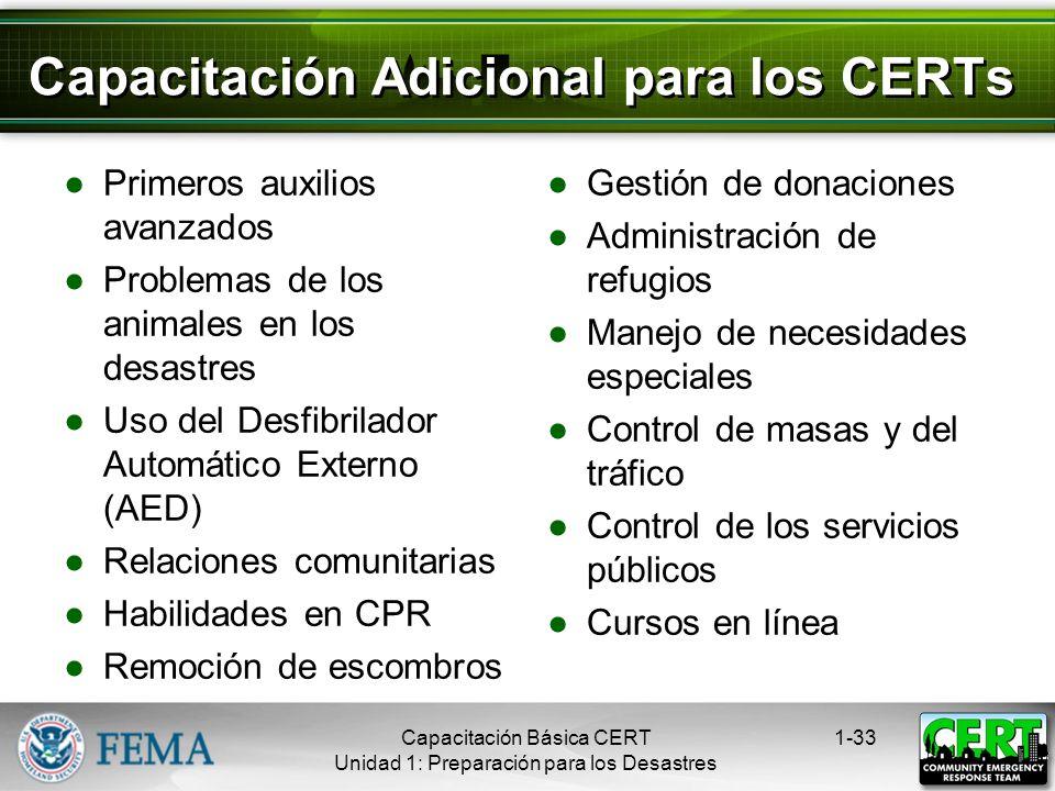 Protección para los Trabajadores en Desastres Los miembros del CERT por lo general están protegidos por: Las leyes del Buen Samaritano La Ley de Prote
