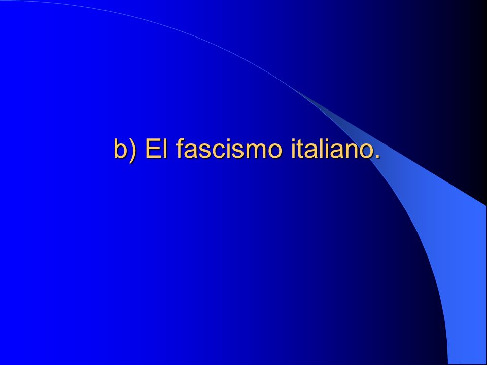 I.La Italia de Posguerra. 1. La victoria mutilada.