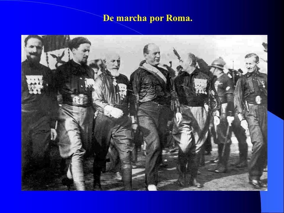 3.El fascismo en el poder. a) La 1ª fase: la eliminación de la oposición (1922-1926).
