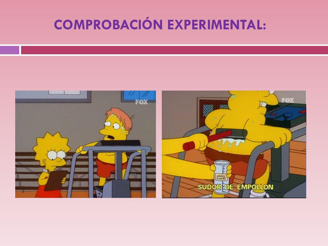 REALIZACIÓN DE EXPERIMENTOS …