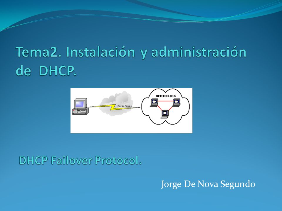 DHCP Failover Protocol.