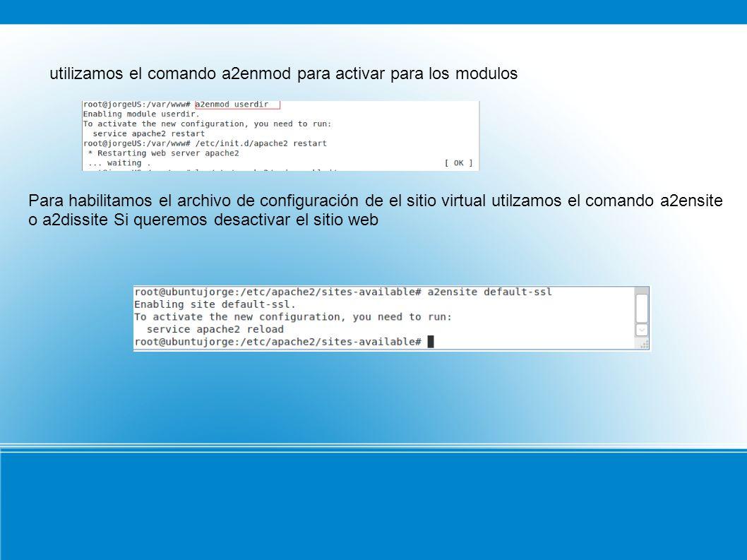 Para reiniciar el servidor y acer efectivos los cambios reinicamos el servicio como se muestra en la imagen: