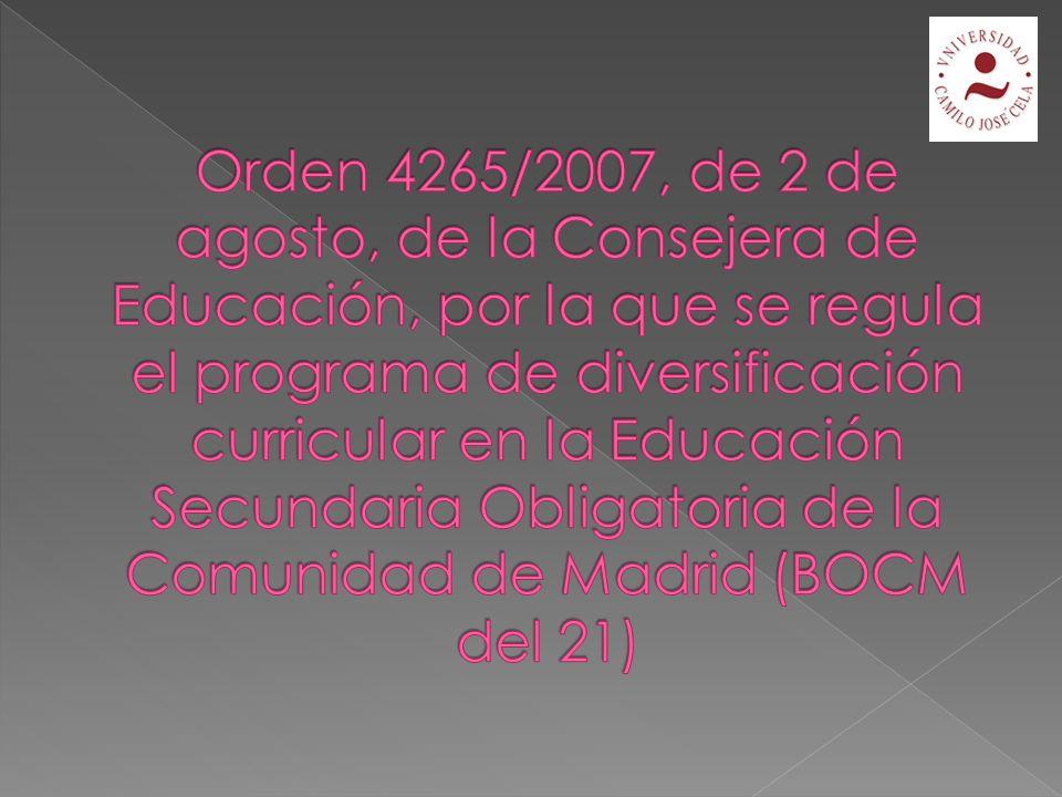 Art. 13 Objetivo: inserción social, educativa y laboral ¿Quiénes cursan PCPI.
