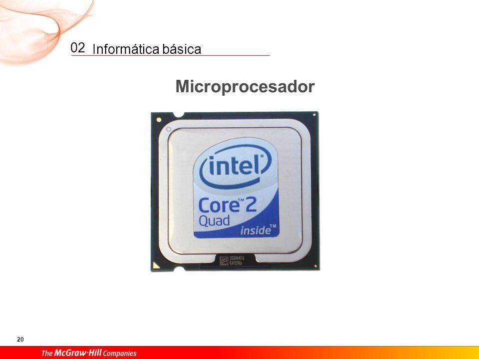 Informática básica 19 02 Impresora Altavoces Módem Monitor Recibe datos de la Unidad de control. Operaciones aritméticas. Operaciones lógicas (compara