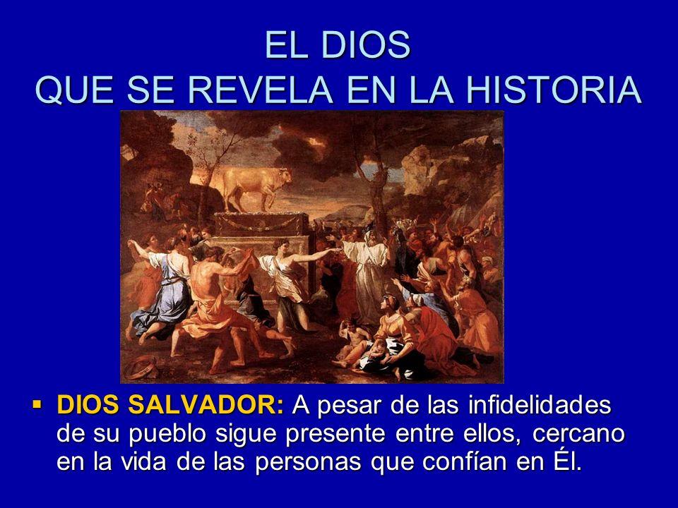 ¿Cómo se enteraron los israelitas que Dios era así.