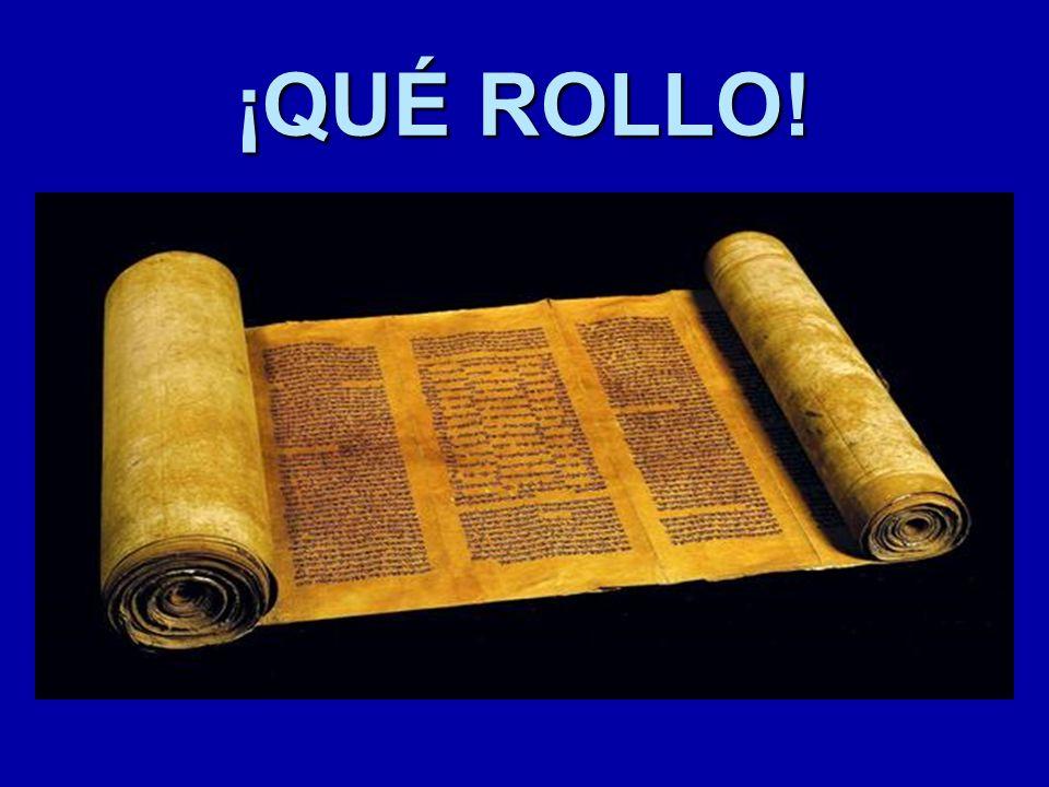 -Los textos de la Biblia se escribieron sobre papiro o pergamino -Cada rollo constaba de varias piezas cosidas entre sí -Los extremos se sujetaban a dos cilindros, en los que se enrollaba una tira -No se conserva ningún original, sino copias, lo que puede dar lugar a que se produzcan algunas diferencias Un soporte frágil