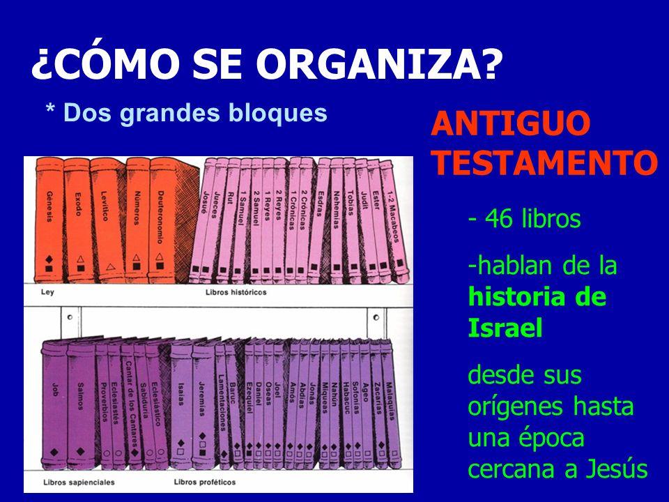 -27 libros -hablan de la vida y el mensaje de Jesús y del nacimiento de la Iglesia NUEVO TESTAMENTO