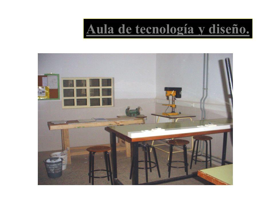 Aula de tecnología y diseño.