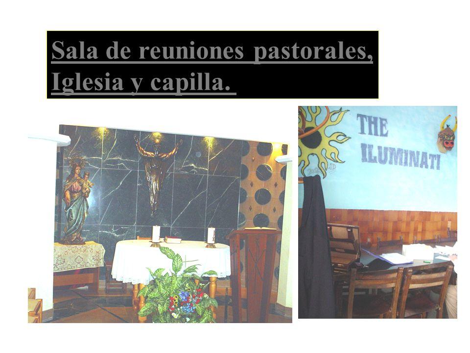 Sala de reuniones pastorales, Iglesia y capilla.
