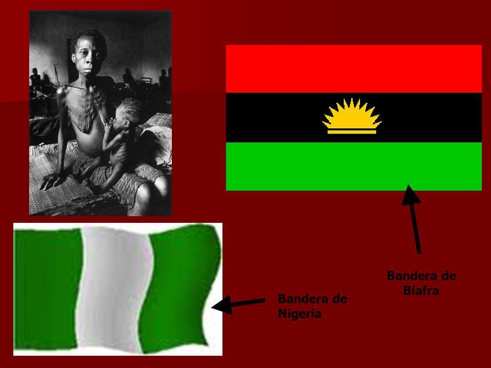 Bandera de Biafra Bandera de Nigeria
