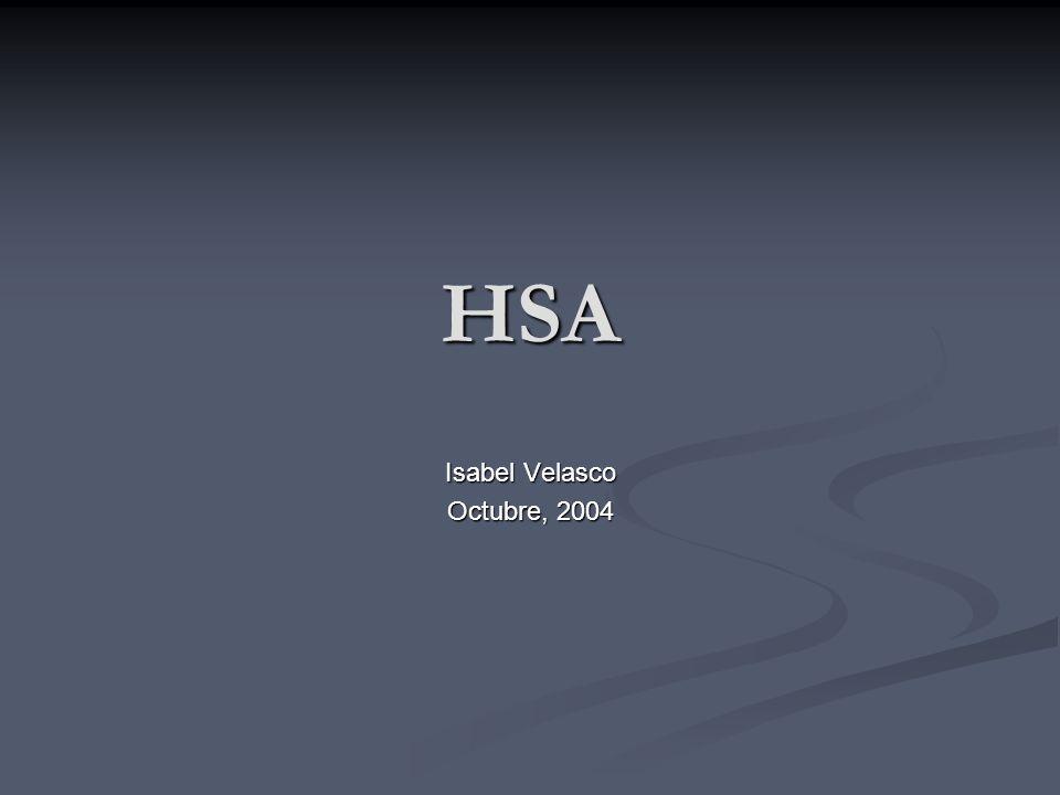 HSA Isabel Velasco Octubre, 2004