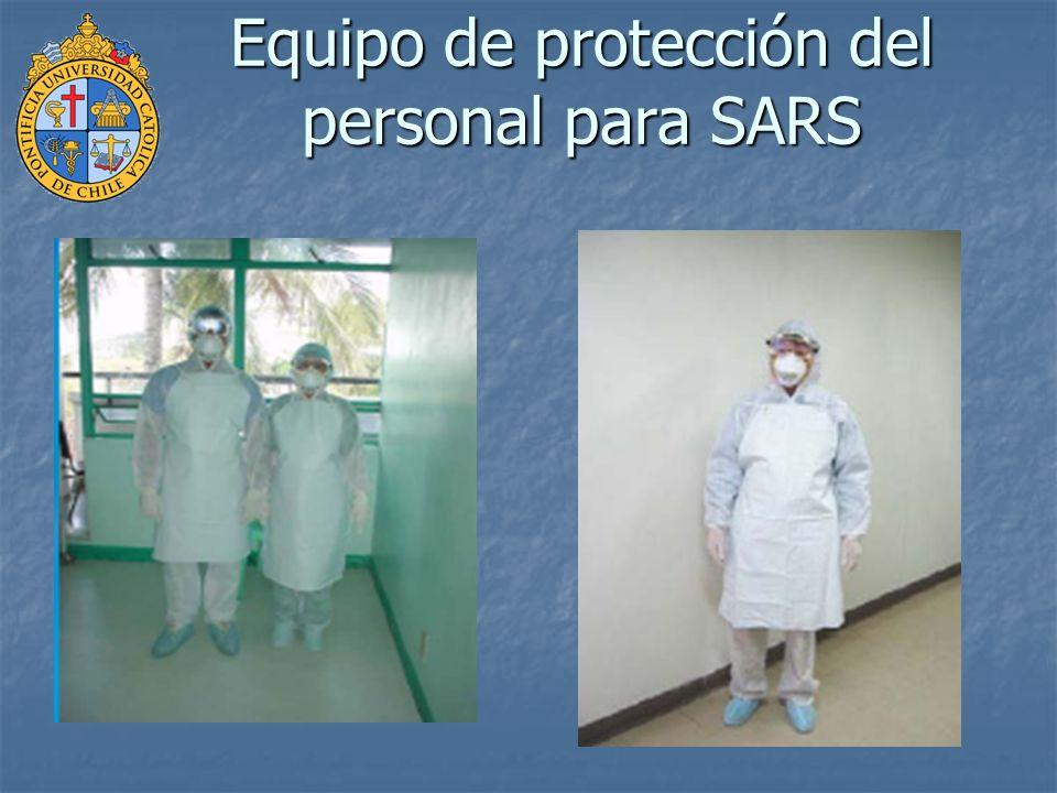 Equipo de protección personal (EPP) Gorro Gorro Bata Bata Máscara N-95 Máscara N-95 Guantes Guantes Gafas Gafas Cubrecalzados o botas quirúrgicas Cubrecalzados o botas quirúrgicas