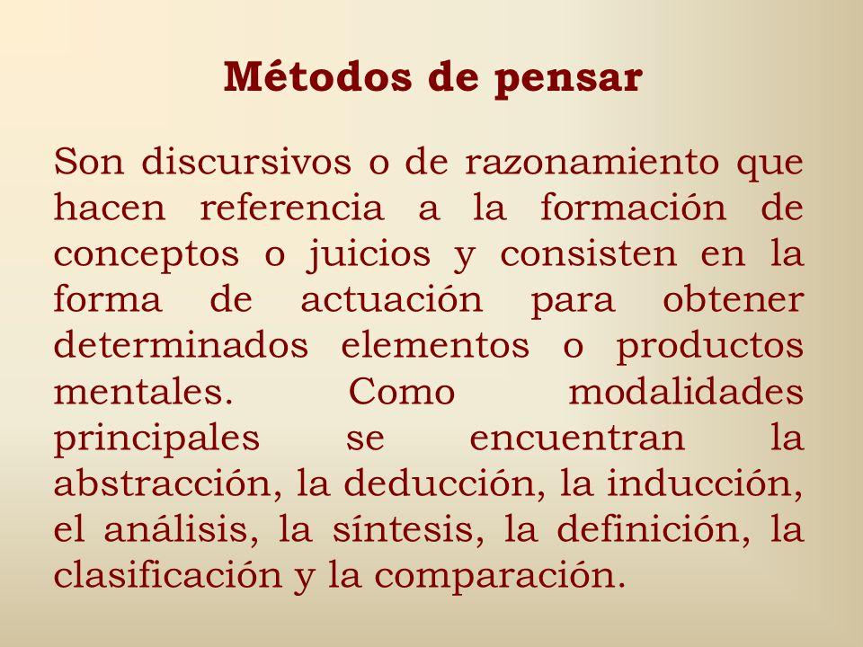 El método es, en general, la forma de realizar las actividades humanas. Por ello, se pueden distinguir tantas clases de métodos como tipos de activida