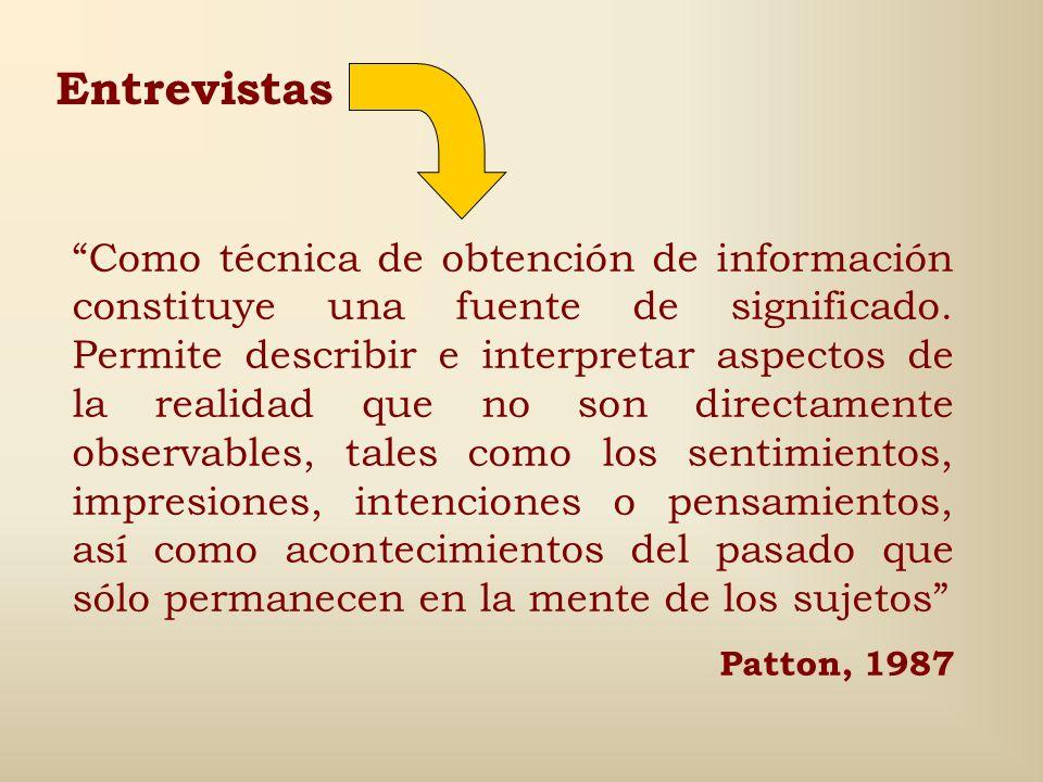 En ellas se implican: La circularidad y la retroalimentación de la información. Las posiciones y los roles relativos de los actores (investigadores y