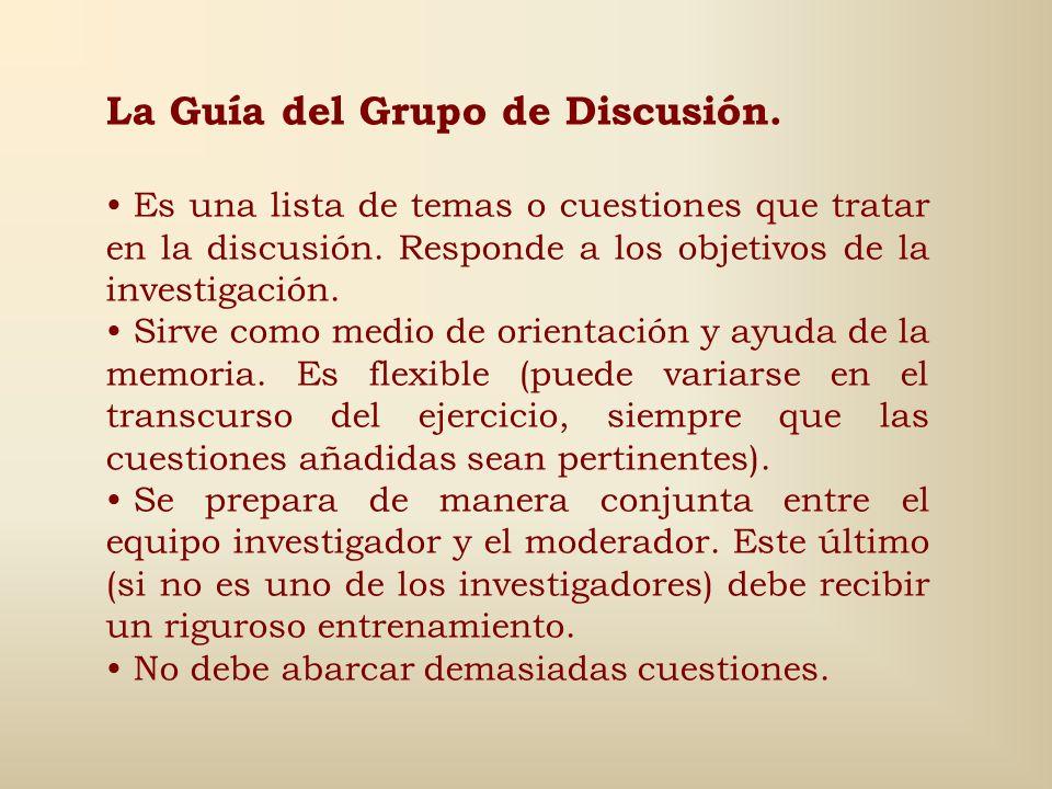 Fases para su desarrollo (3): 2. Continuación… - Fase de desarrollo Relaciones entre actuantes - Debate abierto - Habla individual, escucha grupal Rel