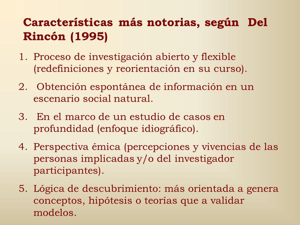 Uso pertinente, según Jorgensen (1989) Se desconoce suficientemente el fenómeno a estudiar. Hay grandes diferencias entre los puntos de vista de los m