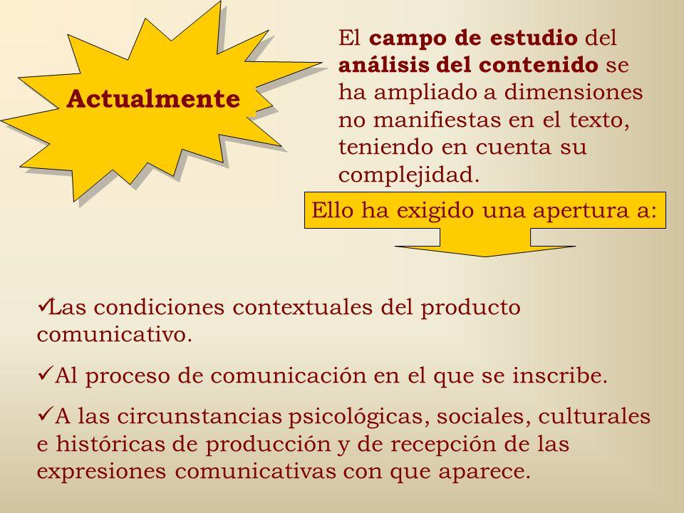 Procedimientos del método (4): 6. Análisis de la información (continuación…) Tercera fase: Interpretación a partir del contexto macro de producción. A