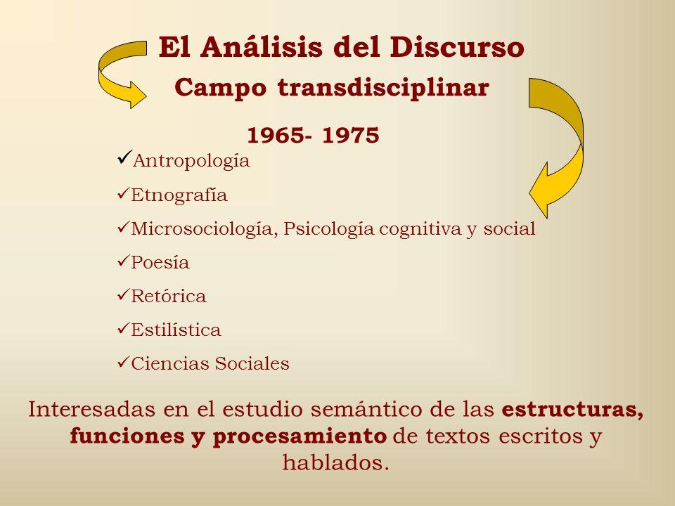 Julieta Haidar, 1998 plantea que el discurso es: 1.Un conjunto transoracional que presenta reglas sintácticas (relaciones entre signos), semánticas (r