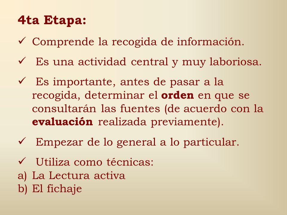 Ejemplo de Ficha de Fuentes Vivas u Orales (Entrevistas) Nota: No existe un estilo único generalmente aceptado. Orden de los elementos: 1. Nombre del