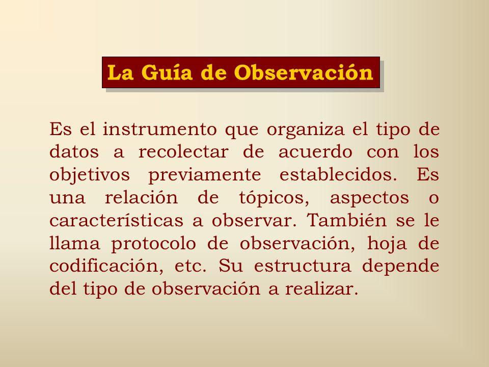 Pasos para realizar la observación, (Sampieri, 2003: 429-433) (2) 7. Elaborar las hojas de codificación. 8. Proporcionar entrenamiento a codificadores