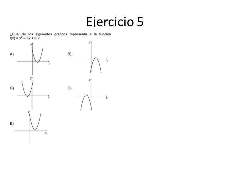 Ejercicio 5