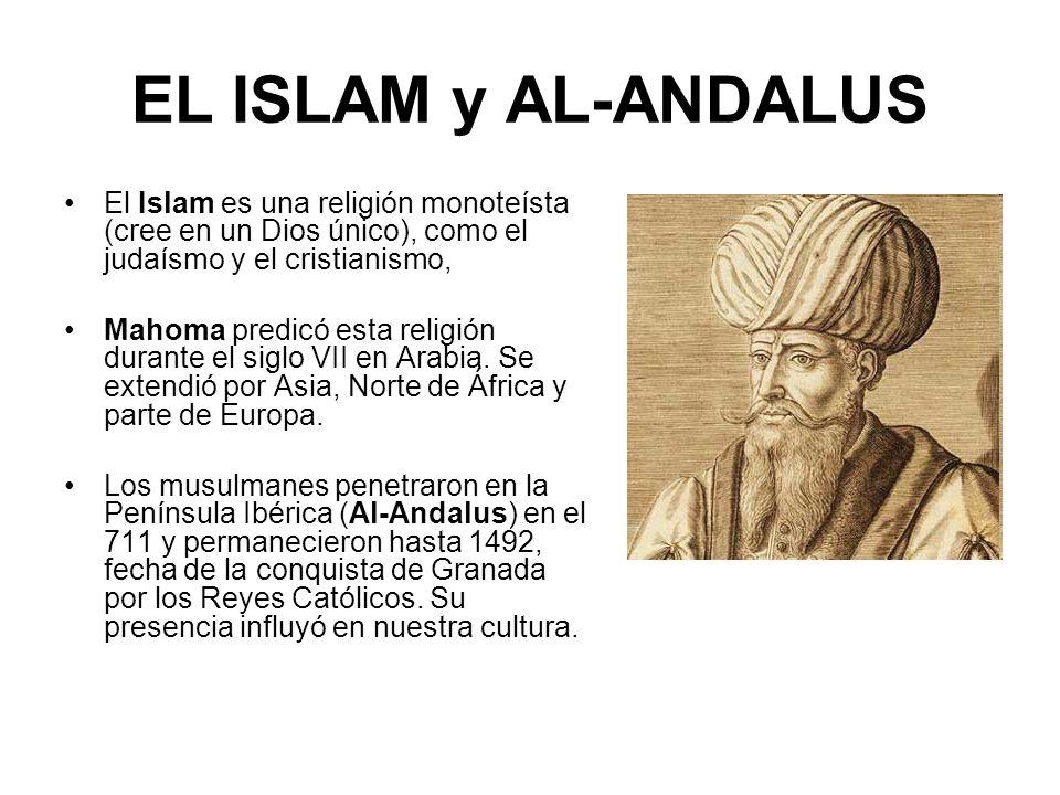 Aparición del Islam Mahoma, el profeta de Alá, en el 622 huye (Hégira) de La Meca a Medina.
