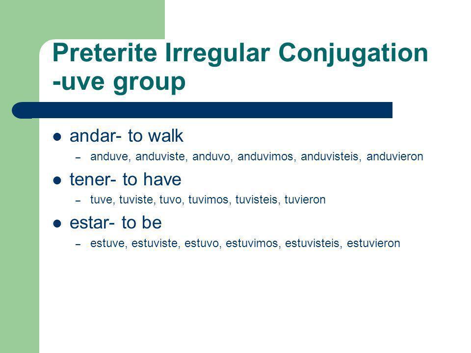 Otros verbos –zar almorzar (to eat lunch)abrazar (to hug) aterrizar (to land)cruzar (to cross) comenzar (ie) (to begin)empezar (ie) (to begin) especia