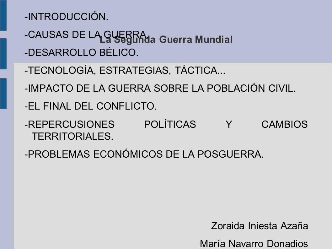 EL FINAL DEL CONFLICTO CONFERENCIAS BIPARTITAS: -Carta del Atlántico.