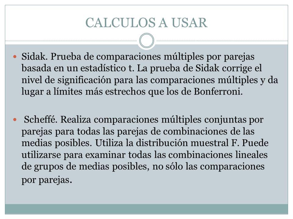 CALCULOS A USAR R-E-G-W F.
