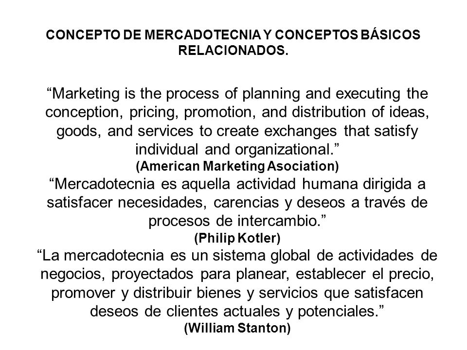 Marketing is the process of planning and executing the conception, pricing, promotion, and distribution of ideas, goods, and services to create exchan