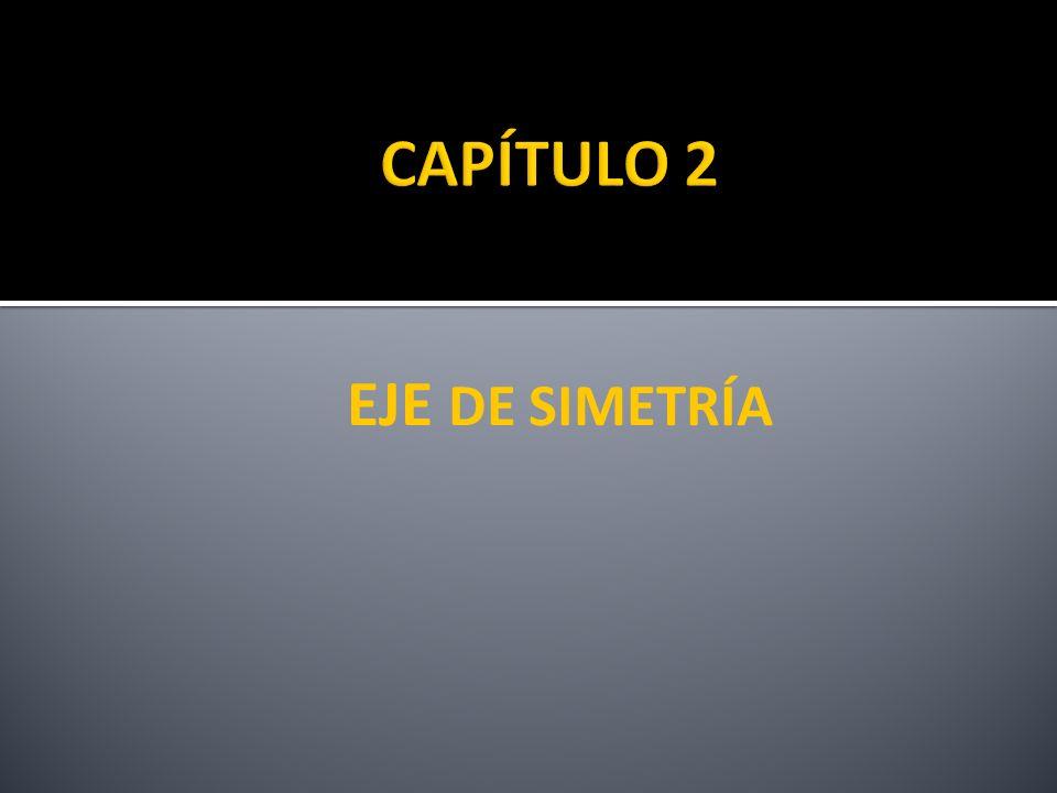 EJE DE SIMETRÍA