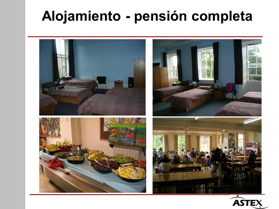 Alojamiento - pensión completa