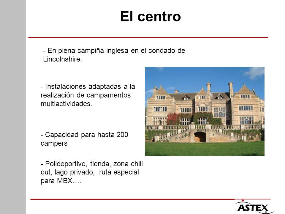 El centro - Instalaciones adaptadas a la realización de campamentos multiactividades. - Capacidad para hasta 200 campers - Polideportivo, tienda, zona