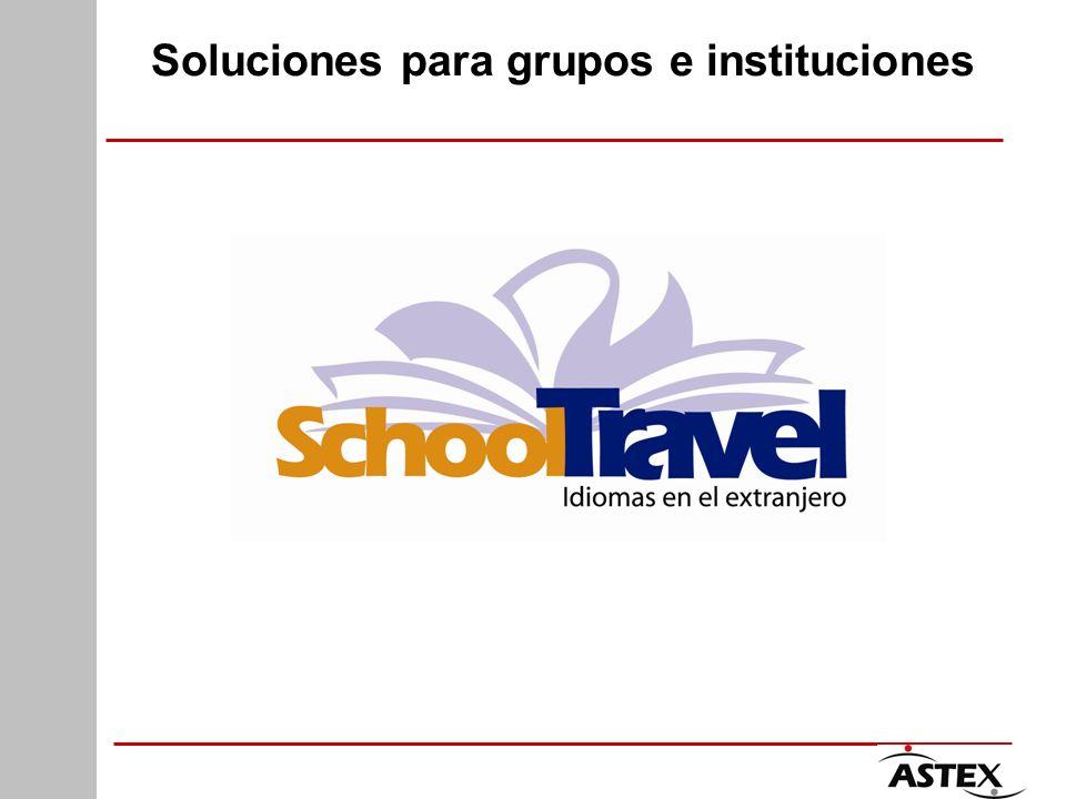 Soluciones para grupos e instituciones