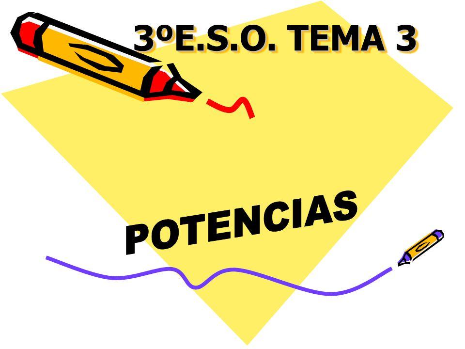 1.Problema Escribe como una sola potencia (cuando se pueda) las siguientes expresiones: A)B) C)D)
